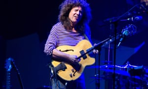 Pat Metheny performing with his Unity Band in London.
