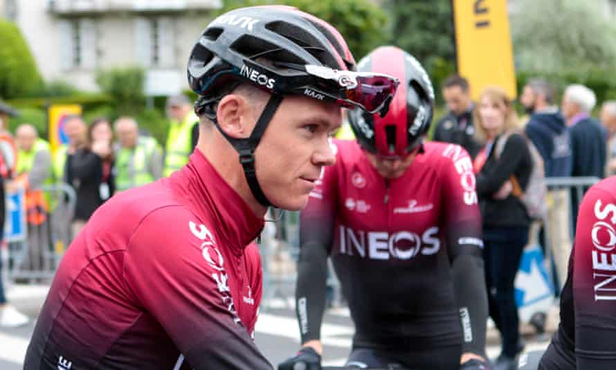Chris Froome is out of the Tour de France after suffering a suspected broken leg following a crash before stage four of the Criterium du Dauphine.