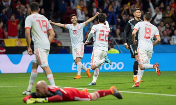 Germany 0-1 Brazil, Spain 6-1 Argentina and more: international