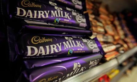 Sales of single chocolate bar are down – but that has been countered by a rise in sales for larger bars.