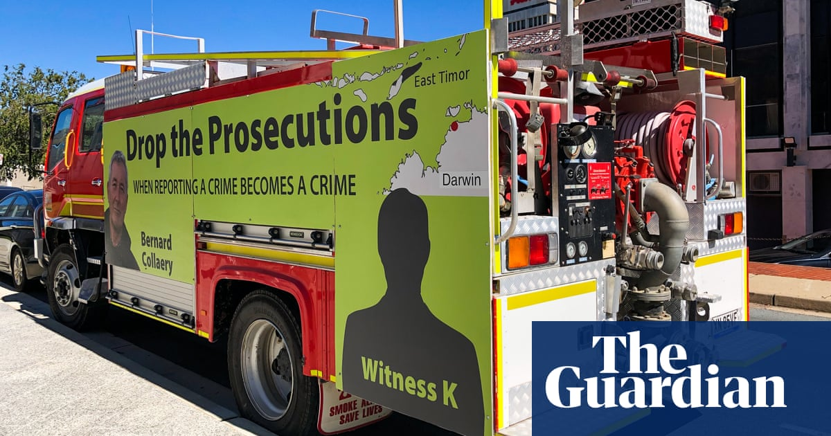 'Scapegoating': protesters to gather at Australian parliament before Witness K sentencing