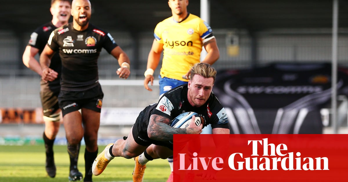 Exeter v Bath: Premiership semi-final – live!