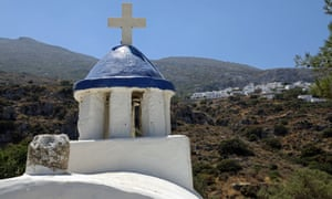 A small church below the village of Langada.
