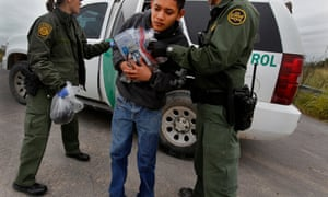 Border agents found this 17-year-old Guatemalan freezing in the Rio Grande.