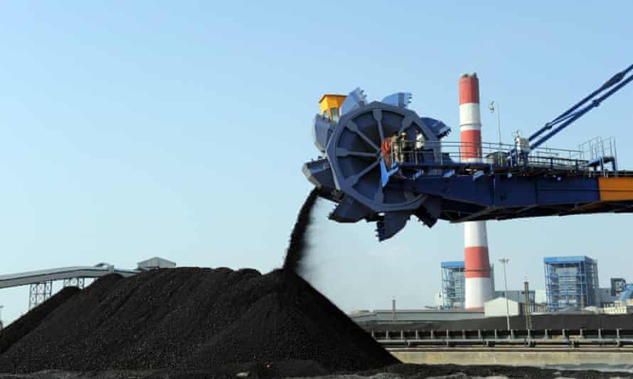 Coal plant in India