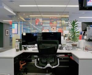 Inside the Wall Street Journal newsroom, New York