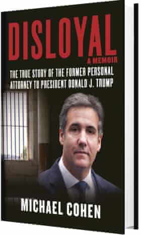 Michael Cohen's new book will be released on 8 September 2020.