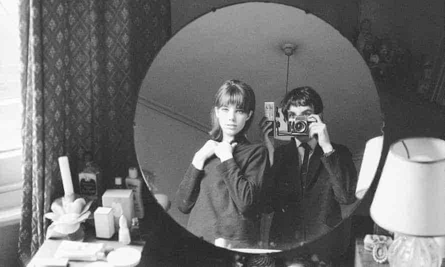 Jane Birkin alongside her brother, Andrew, in 1964
