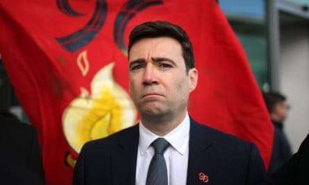 Andy Burnham after the conclusion of the Hillsborough inquest in April.