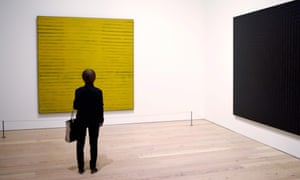 Stella's more minimalist work: 'it's OK if you don't love both'