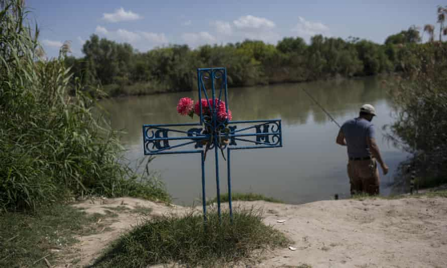 At least four people died trying to cross the River Grande in July.