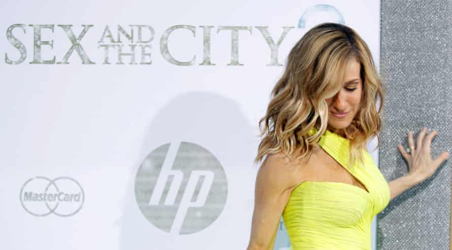 """Actor Sarah Jessica Parker arrives for the premiere of the film """"Sex And The City 2"""" in New York May 24, 2010"""
