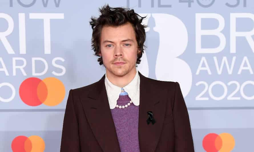 The BRIT Awards 2020 - Red Carpet ArrivalsLONDON, ENGLAND - FEBRUARY 18: (EDITORIAL USE ONLY) Harry Styles attends The BRIT Awards 2020 at The O2 Arena on February 18, 2020 in London, England. (Photo by Karwai Tang/WireImage)