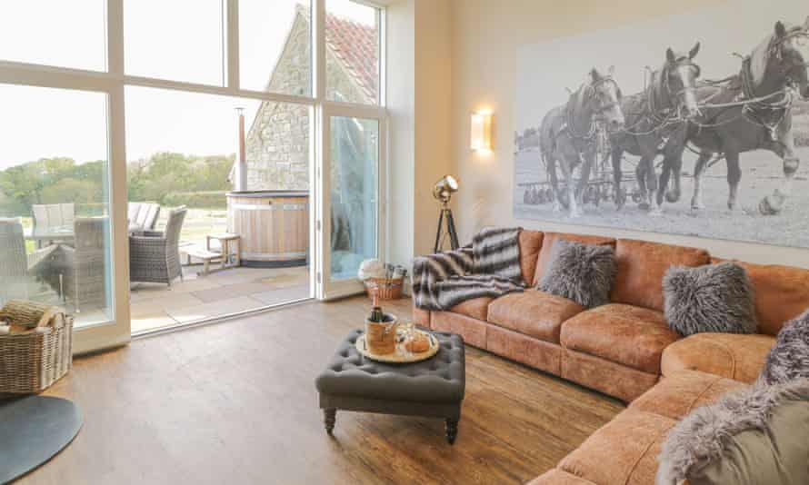 The Byre Whitby sitting room