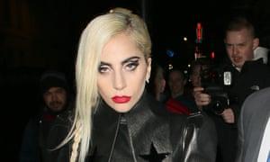 Lady Gaga at the Groucho Club in London last week.