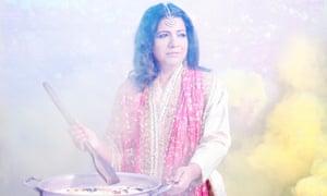 Asma Khan, head chef of the 'hugely admired' Darjeeling Express.