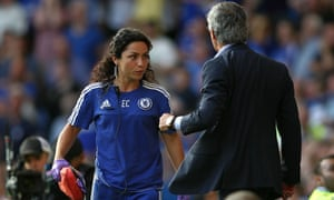 Eva Carneiro ran into problems with José Mourinho on the opening day of the season.