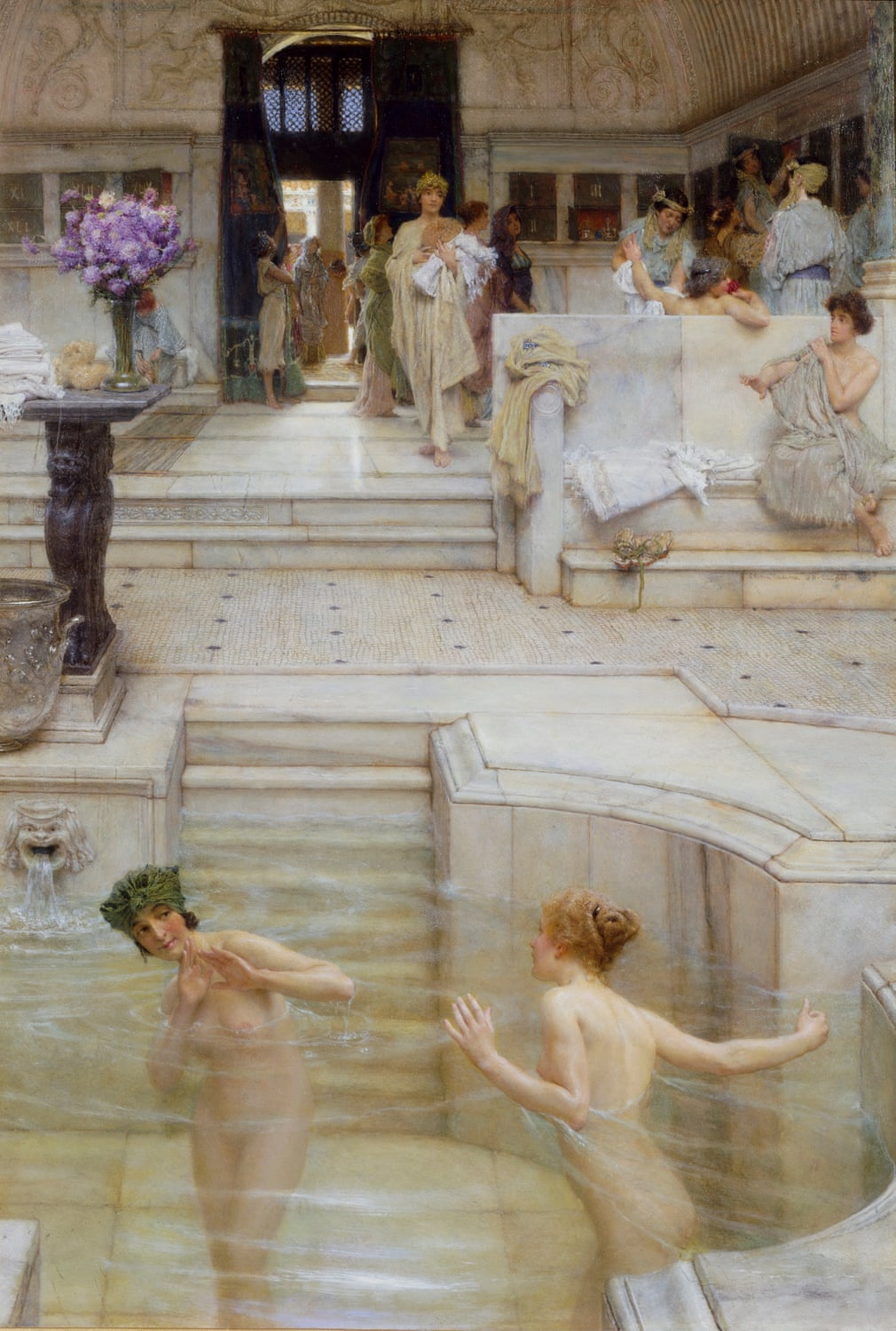 A Favourite Custom by Sir Lawrence Alma-Tadema