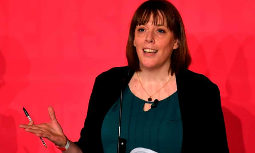 Jess Phillips at the hustings event in Liverpool on Saturday