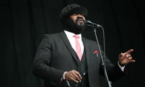 'These are the most empowering songs I know' … Gregory Porter at Glastonbury in 2016.