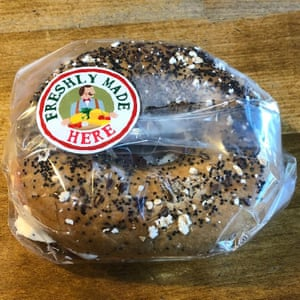 Newquay airport bagel – only £4.50.