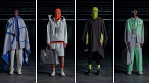 A COLD WALLThe Brit boy on the Milan schedule, Samuel Ross also unveiled his SS22 collection via video that introduced optimistic accents of colour into A Cold Wall's aesthetic lexicon. Fluro yellow, pastel green and pops of scarlet punctuated athletic outerwear, balaclavas and knitwear. His stimuli comprised four words, 'motion, form, oscillate and converge', which were reflected in a collection that held the hallmarks of Ross's ever-innovative take on ready-to-wear yet presented in a softer, more accessible way - see those billowing poncho silhouettes