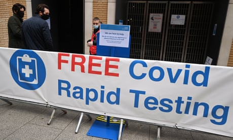 UK Covid live: number of people testing positive falls across four nations