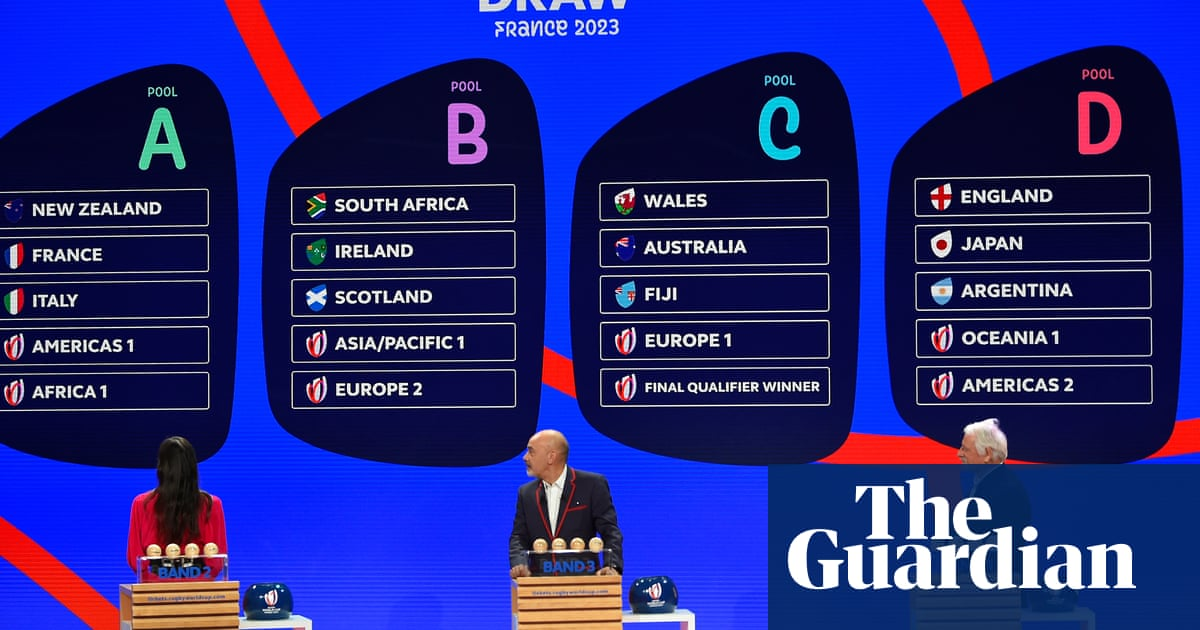 Eddie Jones warns against England complacency after 2023 World Cup draw