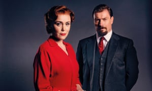 Keely Hawes as Kathleen, and Toby Stephens as Samuel in Summer of Rockets.