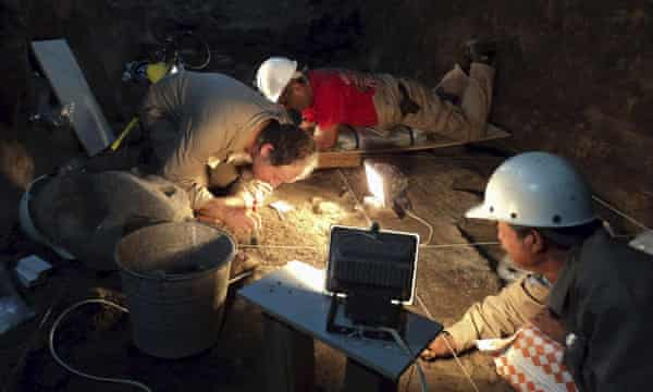 archaeologists Teotihuacan mexico