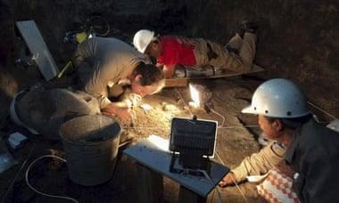 archeologi Teotihuacan mexico
