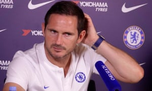 Chelsea manager Frank Lampard talks to the press about their Premier League match against Norwich City.