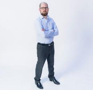 Dr  Jeffrey Barrett, a Covid-19 scientist. March 2021