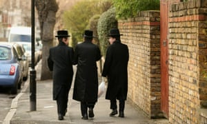 Hackney, home to the biggest concentration of ultra-Orthodox Jews in Europe.