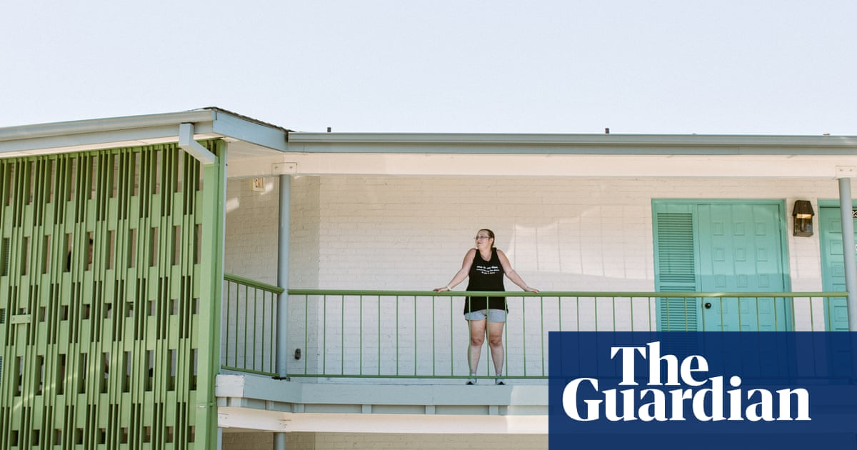 'They just forgot about us': a US motel of climate refugees with nowhere to go – photo essay