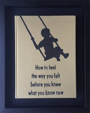 How to Feel the Way You Felt Before You Knew What You Know Now from Art Therapy by Johan Deckmann