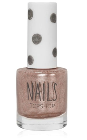 Nails in Crystal Clouds, £6, by Topshop.