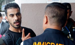 Bahraini refugee soccer player Hakeem Al-Araibi, who lives in Australia, was arrested on arrival in Bangkok three weeks ago on an Interpol red notice. He faces extradition to Bahrain, the country he fled.