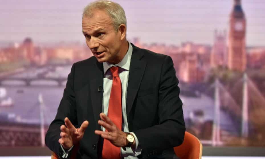 David Lidington, the justice secretary, on the Andrew Marr Show on Sunday