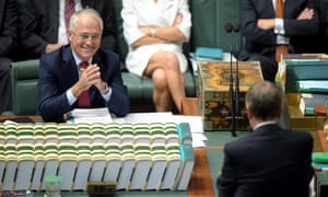 Malcolm Turnbull and Bill Shorten in parliament.