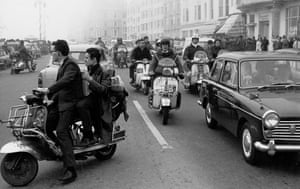 Mods and rockers, Brighton 1964