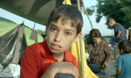 Every step of the way this vulnerable, good-natured boy is in danger … Emran.