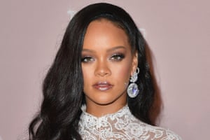 Rihanna, whose beauty brand Fenty Beauty pulled a product over cultural sensitivity.