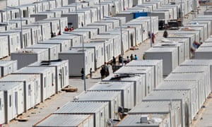 A refugee camp in the Turkish province of Kilis.