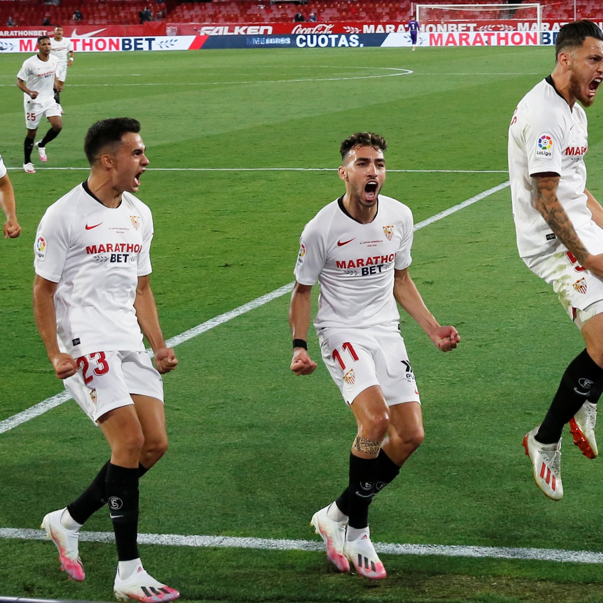 Sevilla v Real Betis: La Liga resumes after shutdown – live ...