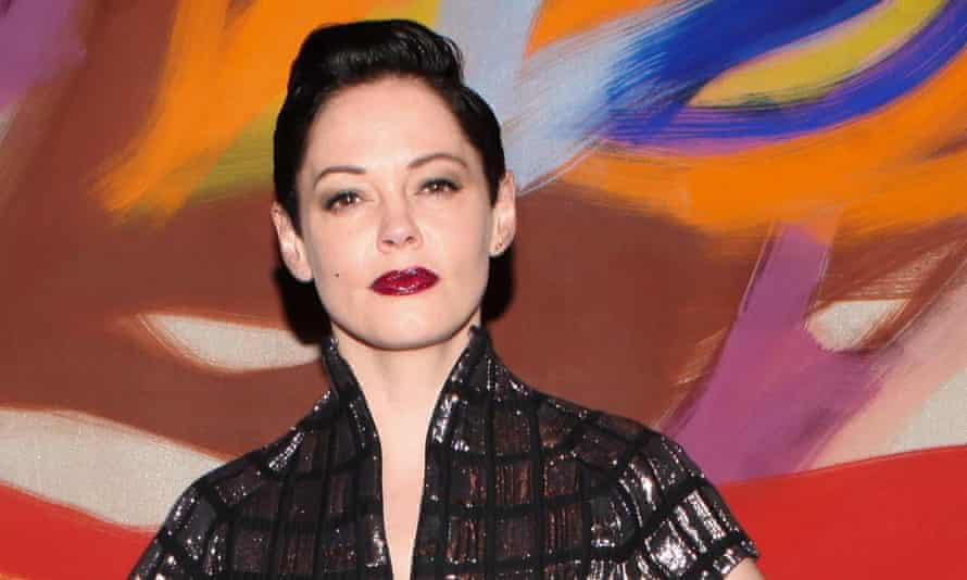 Rose McGowan asked fans: 'Be my voice.'