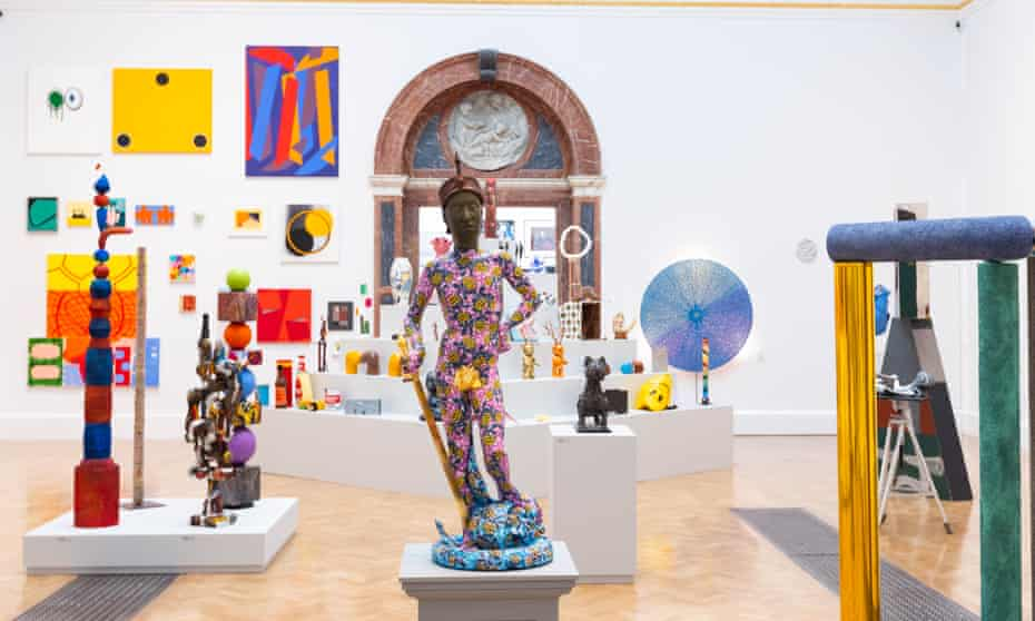 A gallery view of the Royal Academy's Summer Exhibition 2021.