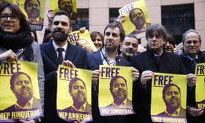 Toni Comín, Roger Torrent, Carles Puigdemont and others