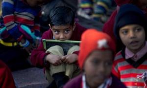 Schoolchildren in Rajasthan