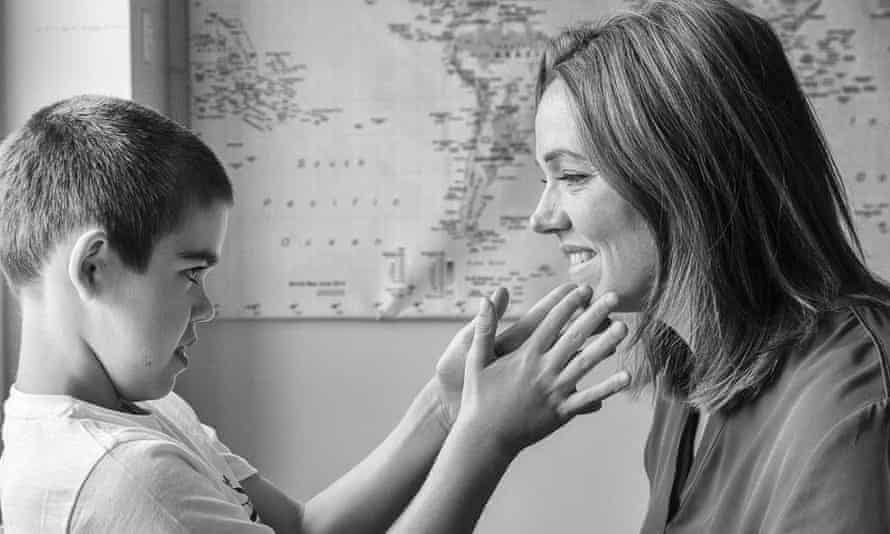 Alfie Dingley, pictured with is mother Hannah Deacon, is one of around 40 children facing loss of access to Bedrolite oil produced in the Netherlands.